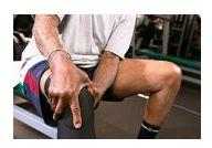 durere severă cu artrită a genunchiului)
