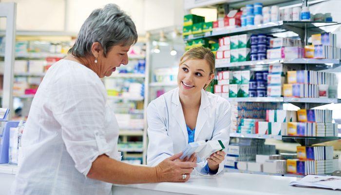 preparate comune într-o farmacie)