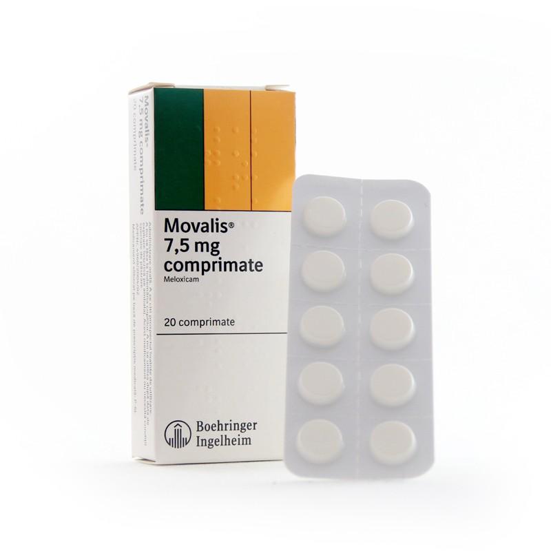 MOVALIS 15 mg COMPR. — Lista Medicamentelor Mediately