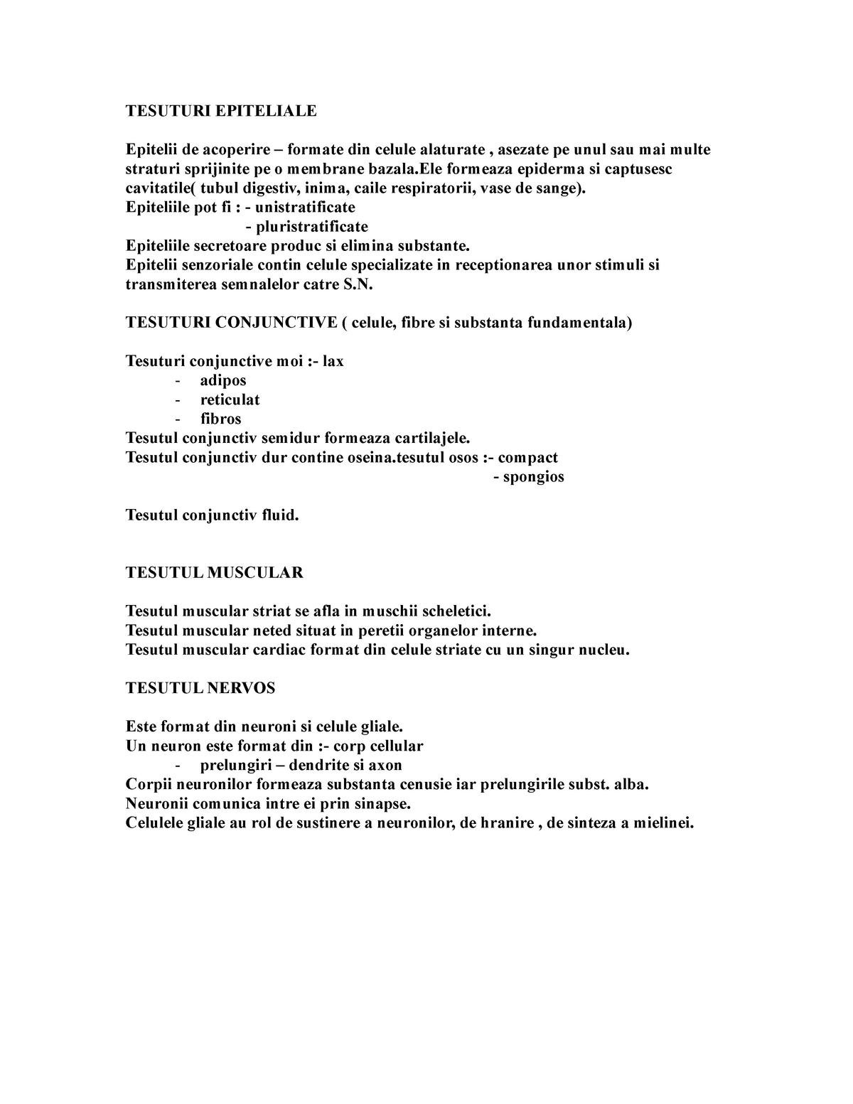 osul tesutului conjunctiv si cartilajul)