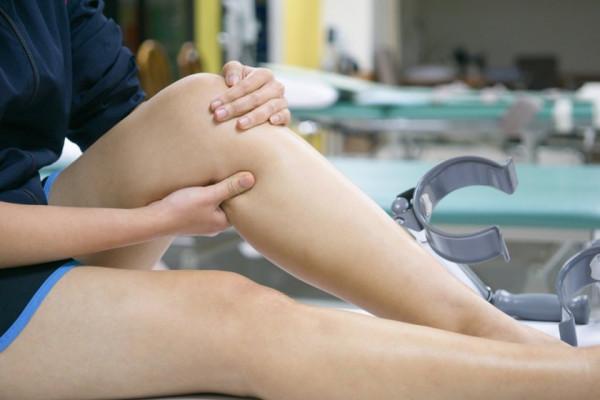 durere în partea mediană a genunchiului)