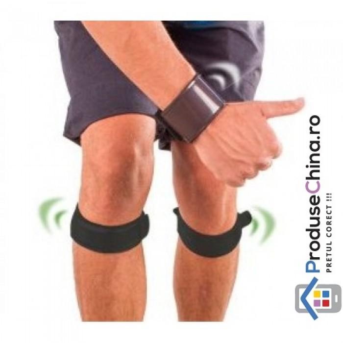 Benzi magnetice Dr. Levine pentru dureri genunchi si maini/suport pentrut genunchi Dr. Levine