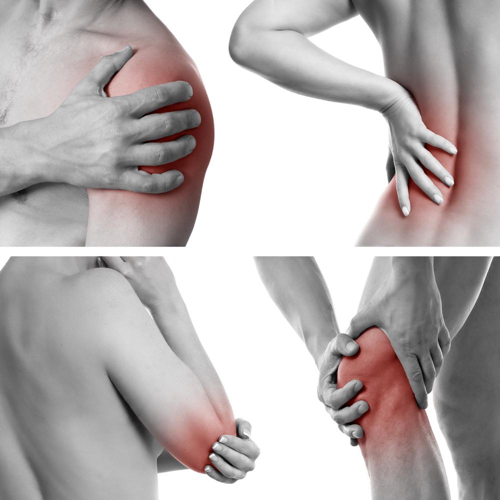 durere în articulațiile mari din dreapta)
