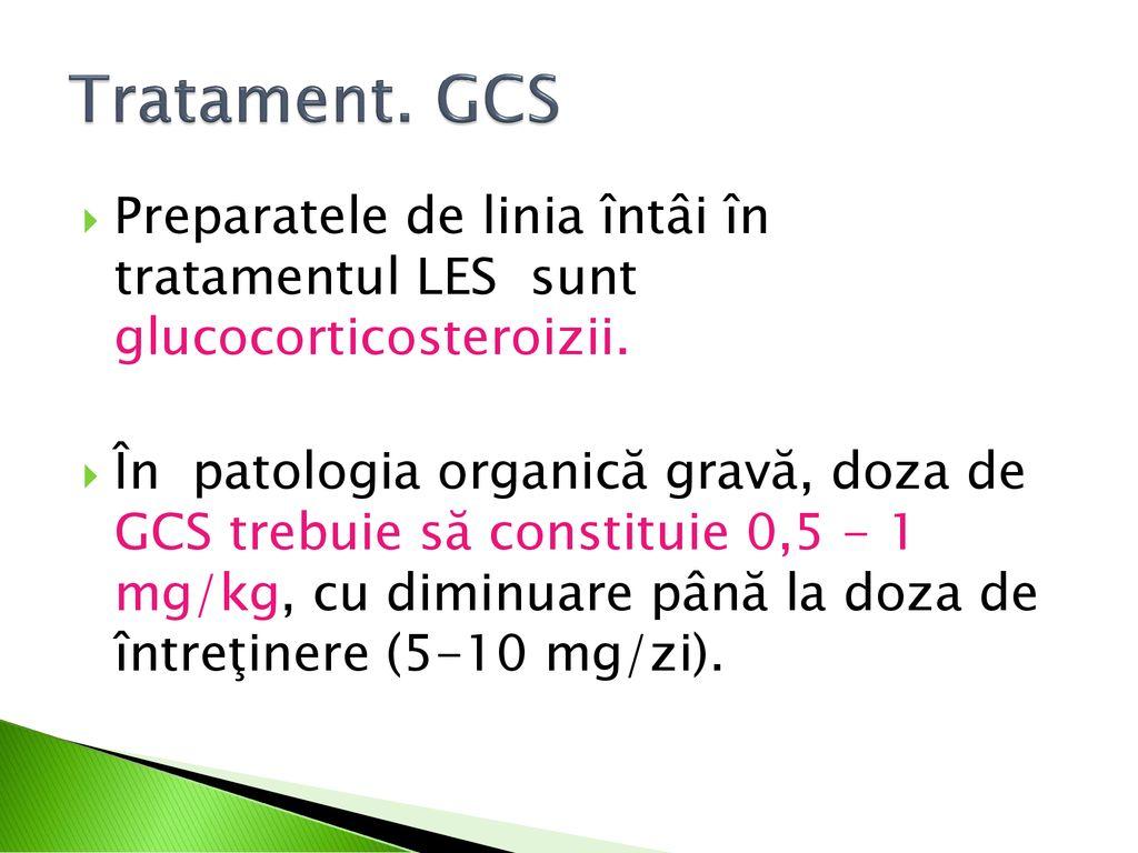 tratament comun pentru LES)