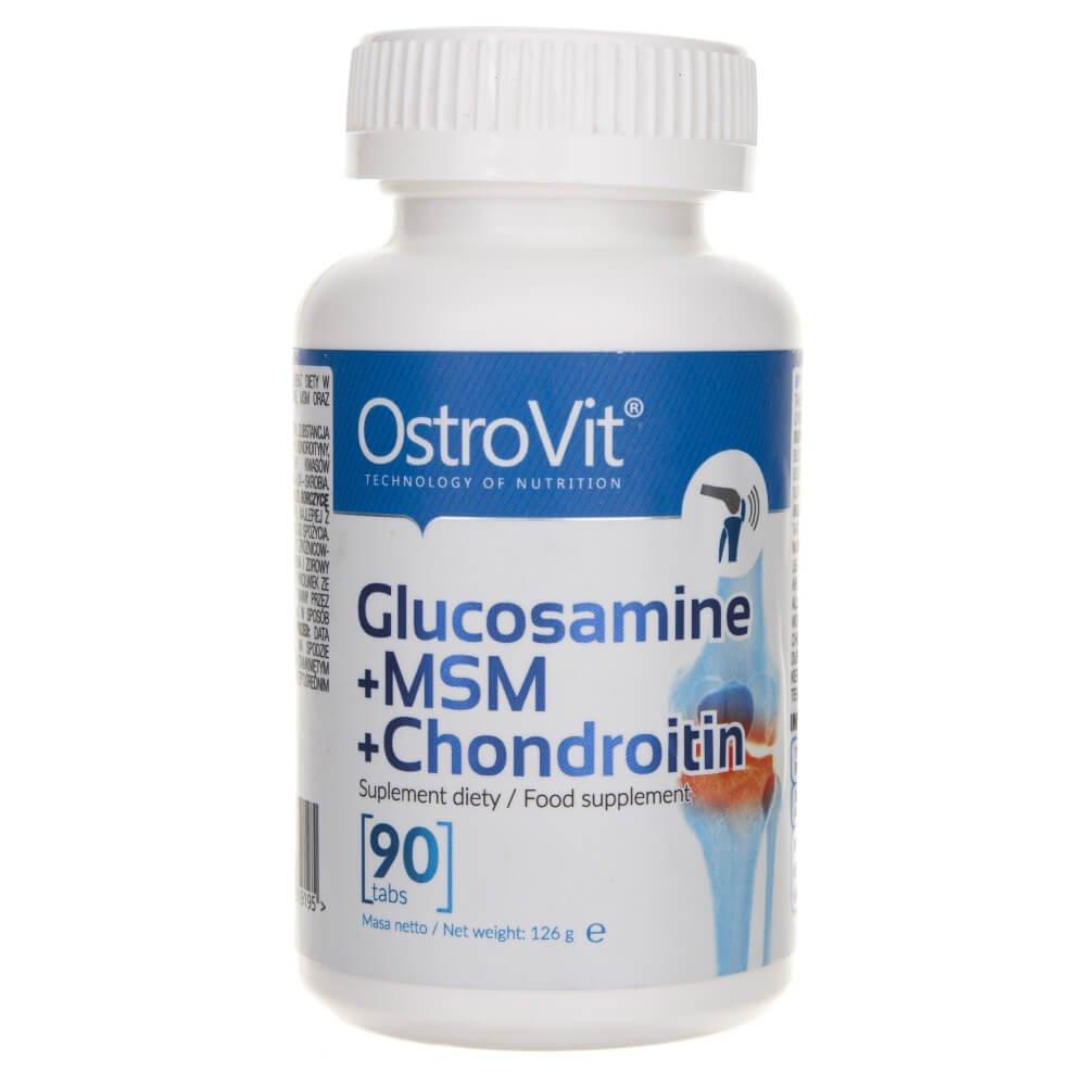 comentarii de condroitină și comprimate de glucozamină