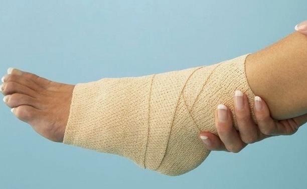 ce bandaj este aplicat pentru vătămarea gleznei)