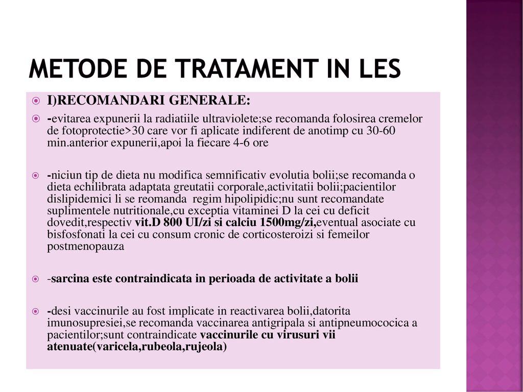 tratament comun pentru LES articulațiile rănite din cauza licopidului