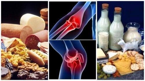 lapte și dureri articulare
