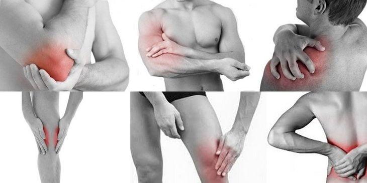 articulațiile și mușchii rănesc întregul corp