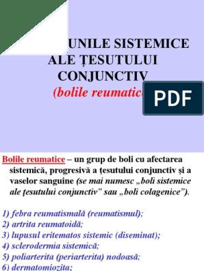 grup de boli sistemice ale țesutului conjunctiv)