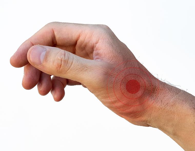 durere la încheietura mâinii și deget mic