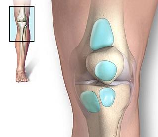 umflarea genunchiului pe interior)