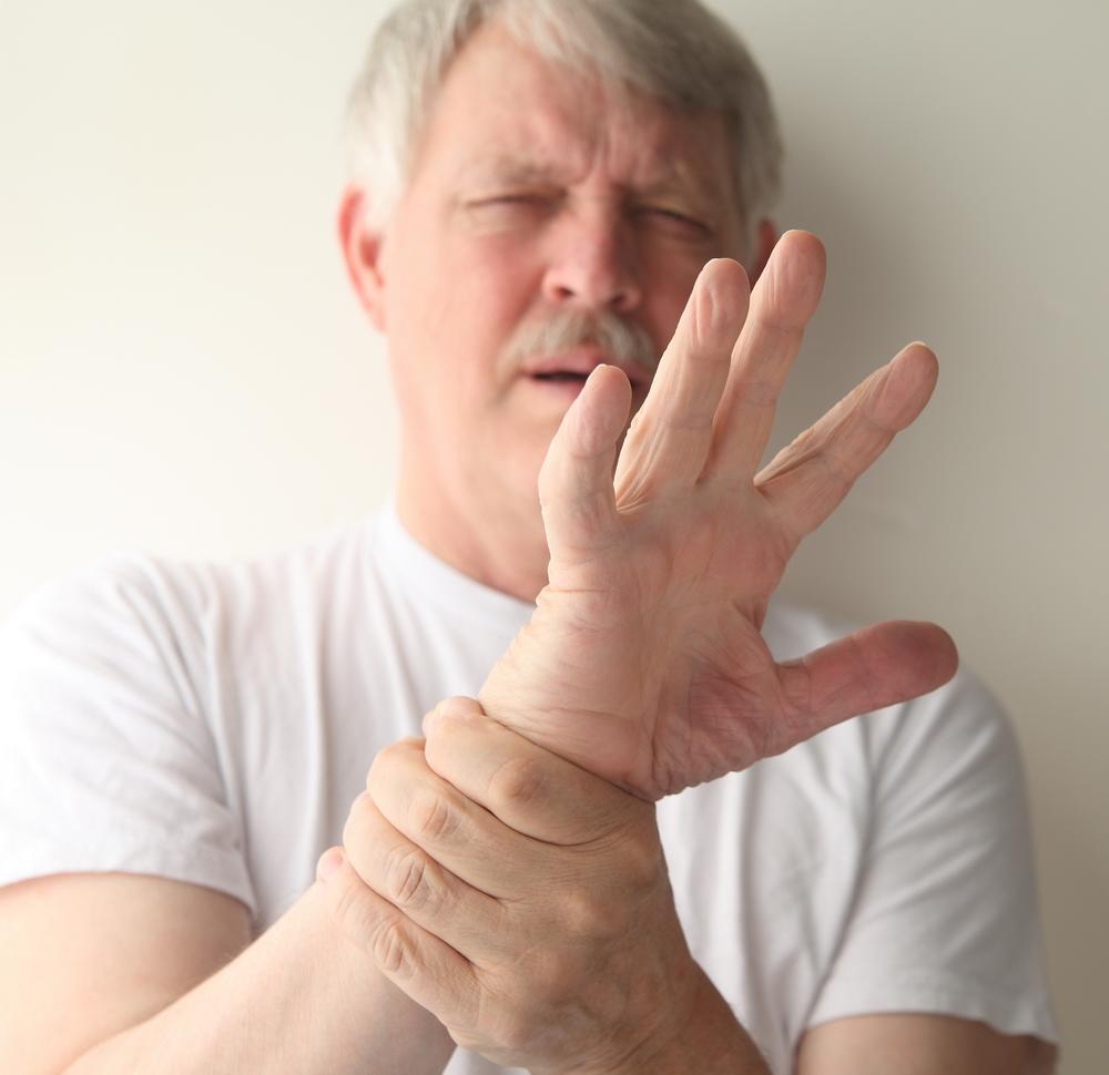 durere în articulațiile mâinilor cu gua