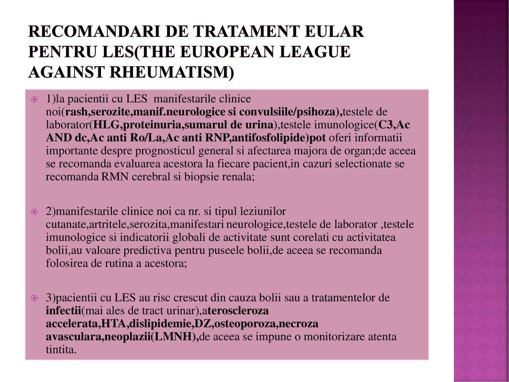 tratament comun pentru LES scapa de durerile articulare citite