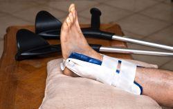 antecedente medicale cu fractură de gleznă