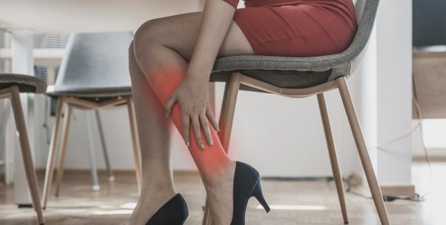Articulație dureroasă a genunchiului și picior amorțit, Iarna, sezonul fracturilor