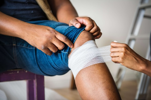 calmarea durerilor de genunchi)