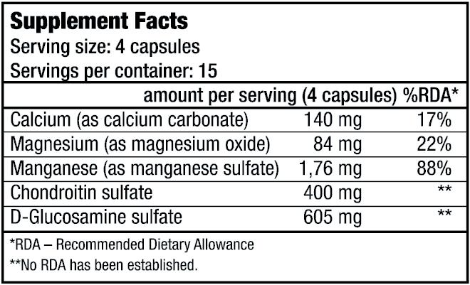 Cumpăra condroitină cu glucozamină din Donetsk - thecage.ro
