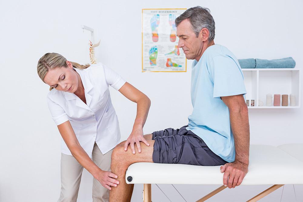 afectarea cronică a meniscului median al genunchiului)
