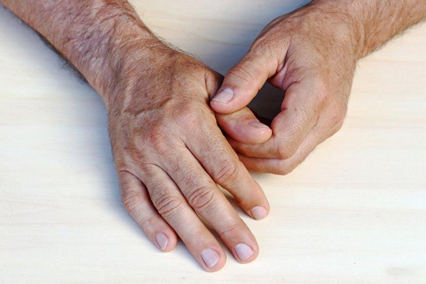 inflamația articulară în tratamentul degetelor mari