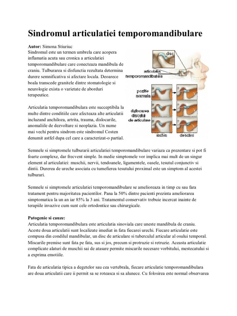 soluție salină pentru inflamația articulației