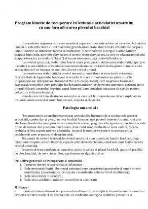 Artroscopie umar - thecage.ro